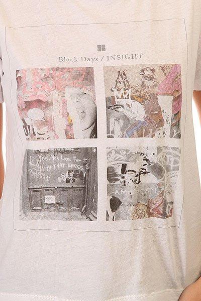 Футболка женская Insight Black Days Dusted