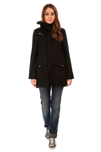 Пальто женское Insight Poker Coat Wool Black