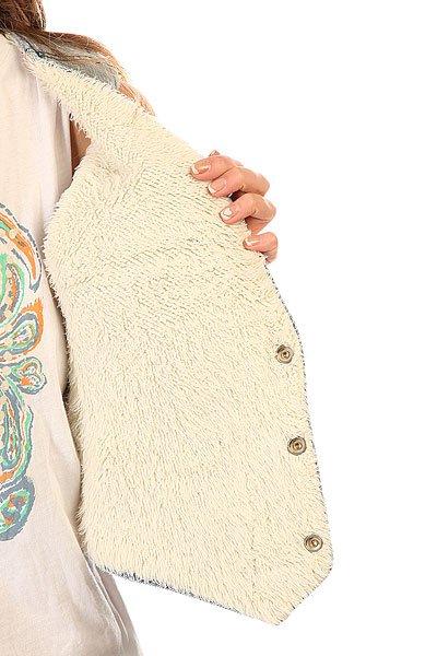Жилет женский Insight Denim In Furs Vest Worn Out Vintage
