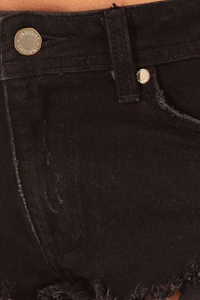 Шорты джинсовые женские Insight All Out Short Black