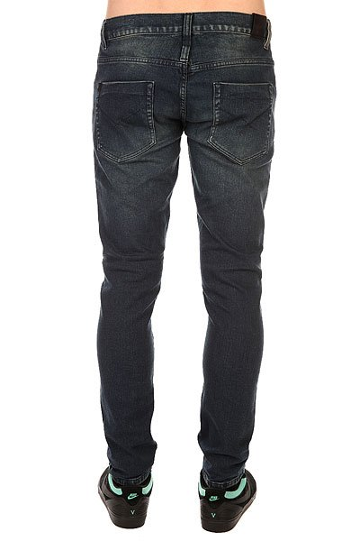 Джинсы узкие Insight City Riot Slim Indigo Trash