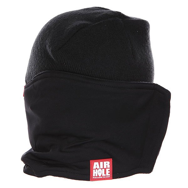 Маска Airhole S1 2 Layer Black