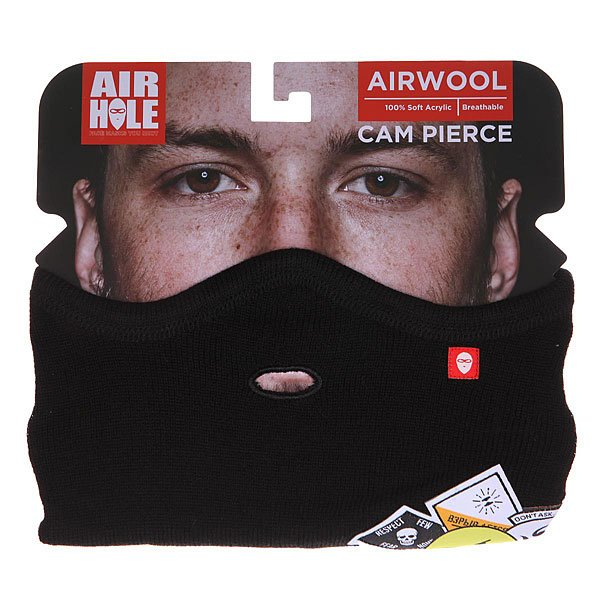 Маска Airhole At2 Airwool Logo Black