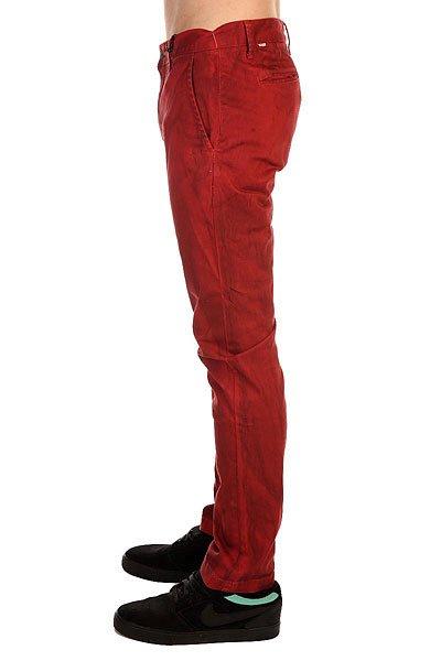 Штаны узкие Altamont Davis Slim Chino Cardinal