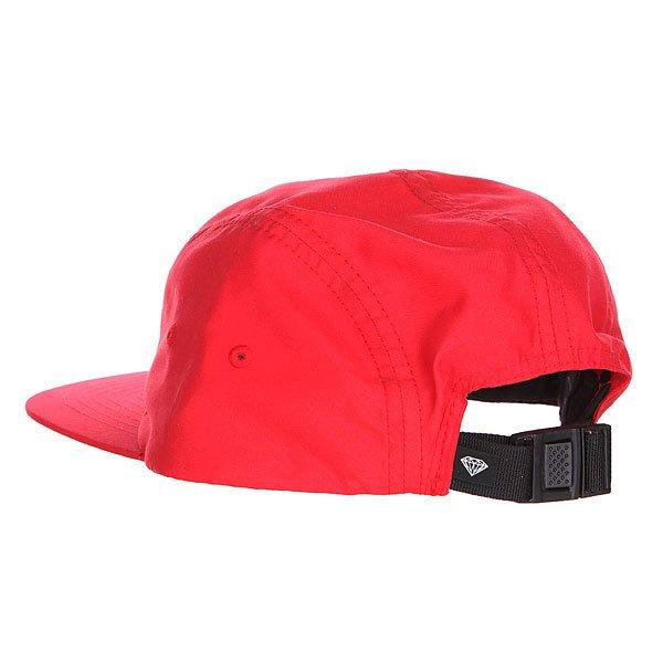 Бейсболка пятипанелька Diamond Glory Camp Hat Red