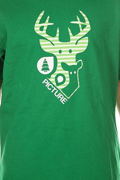 Футболка детская Picture Organic Dear Dark Green