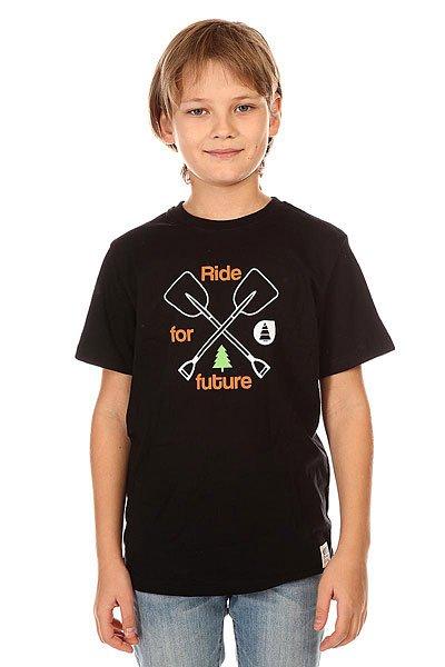 Футболка детская Picture Organic Shovel Black