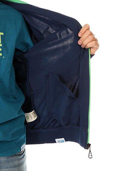 Толстовка классическая детская Picture Organic Basement Ml Zip Marine