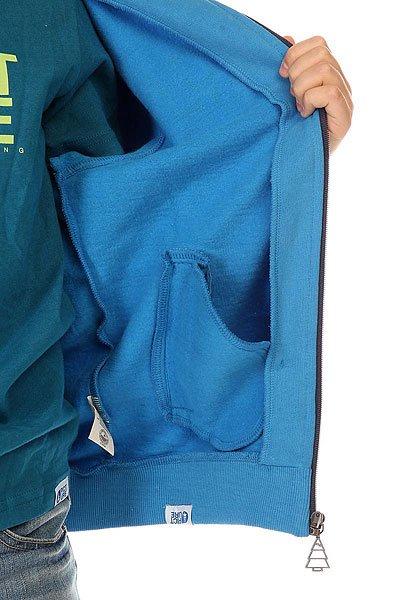 Толстовка классическая детская Picture Organic Basement Ml Zip Blue
