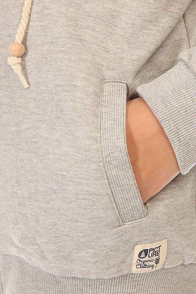 Толстовка утепленная детская Picture Organic Basement Plush Grey