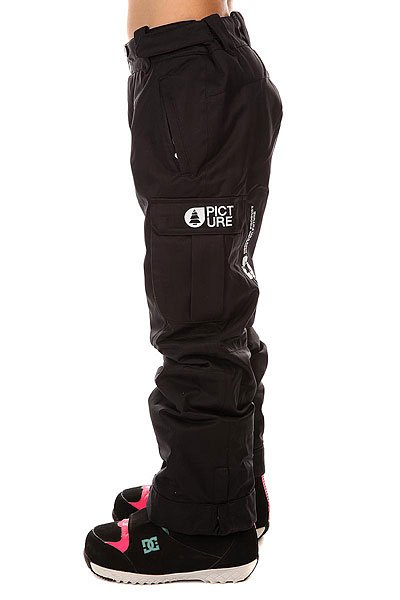 Штаны сноубордические детские Picture Organic Twenty Black