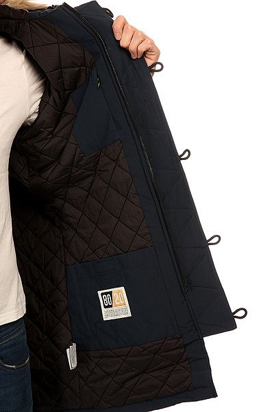 Куртка парка Penfield Paxton Long Insulated Snorkle Jacket Navy