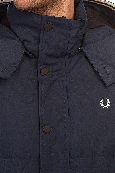 Пуховик Fred Perry Down Field Jacket Navy