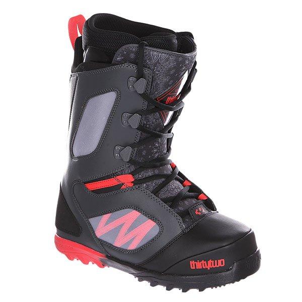 Ботинки для сноуборда Thirty Two Light Jp Black/Dark Grey