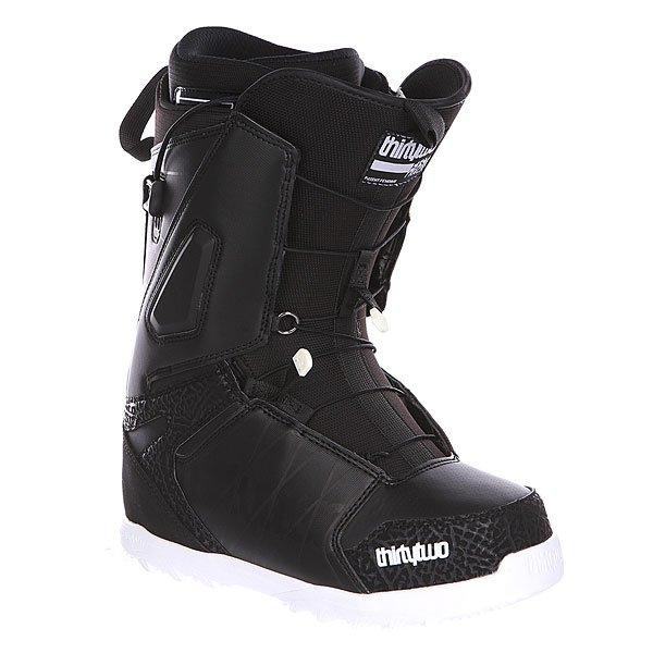 Ботинки для сноуборда Thirty Two Lashed Ft Black/White