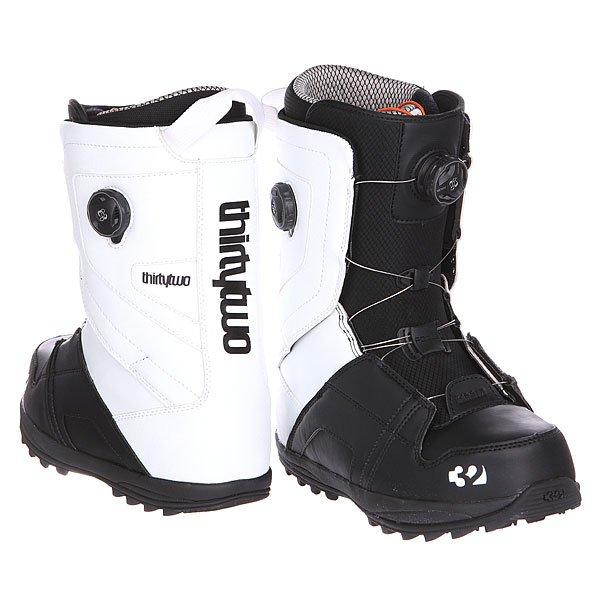 Ботинки для сноуборда Thirty Two Binary Boa Black/White