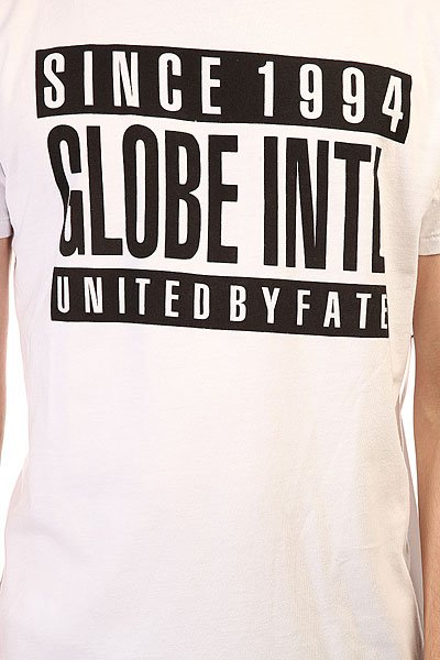 Футболка Globe Parental Tee White Black