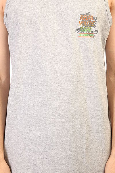 Майка Creature Last Resort Tank Athletic Heather