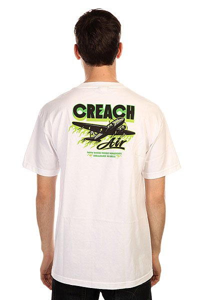 Футболка Creature Creach Air White
