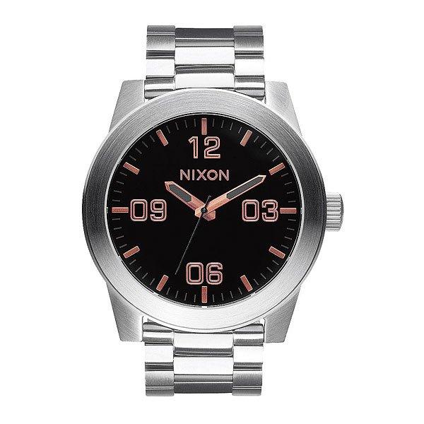 Часы Nixon Corporal Ss Gray/Rose Gold