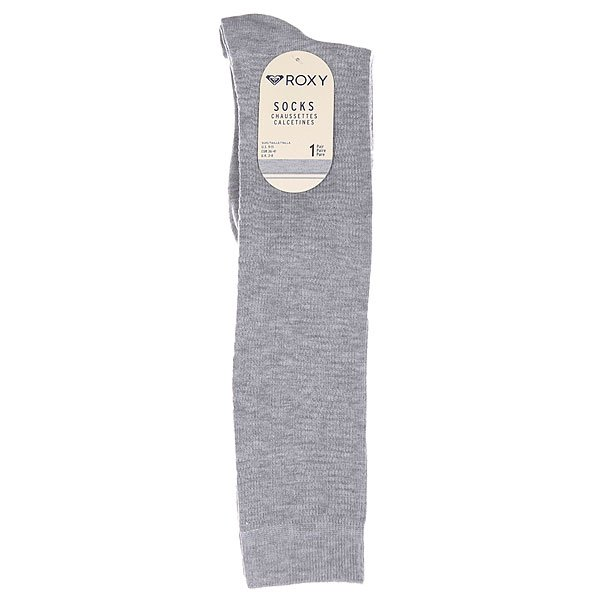 Носки высокие женские Roxy Chunky Cable Wide Welt Heritage Heather