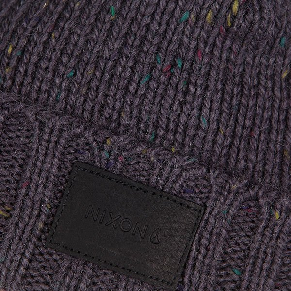 Шапка Nixon Kemble Beanie Dark Gray