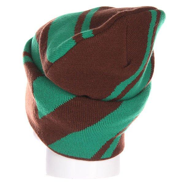 Шапка носок Truespin Lines Brown Turq