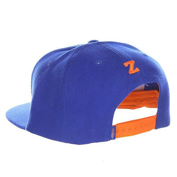 Бейсболка с прямым козырьком Truespin Abc Royal Z