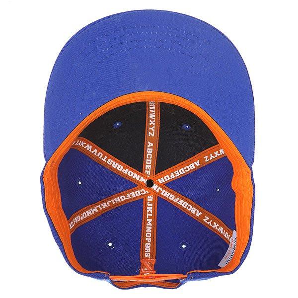 Бейсболка с прямым козырьком Truespin Abc Royal N