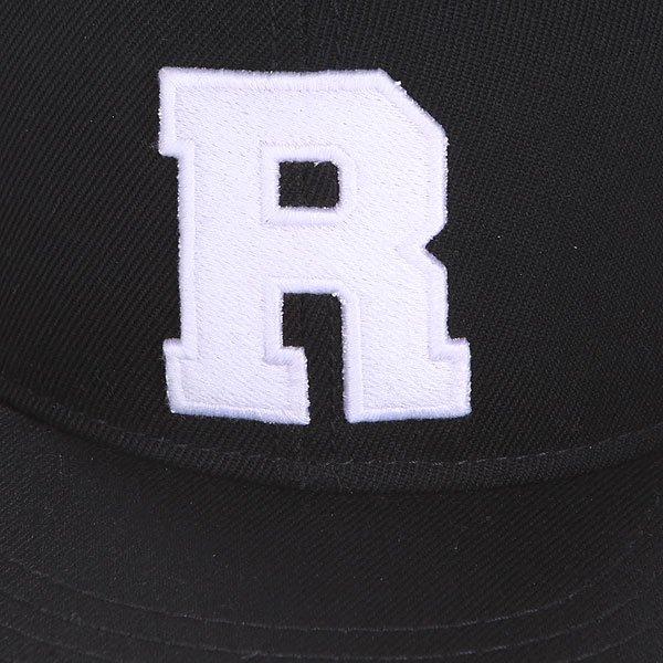 Бейсболка с прямым козырьком Truespin Abc Black R