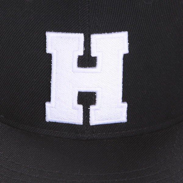 Бейсболка с прямым козырьком Truespin Abc Black H