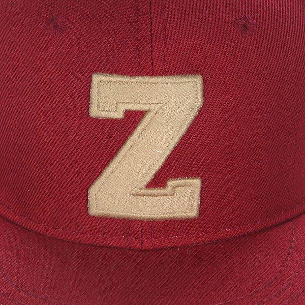 Бейсболка с прямым козырьком Truespin Abc Bordo Z