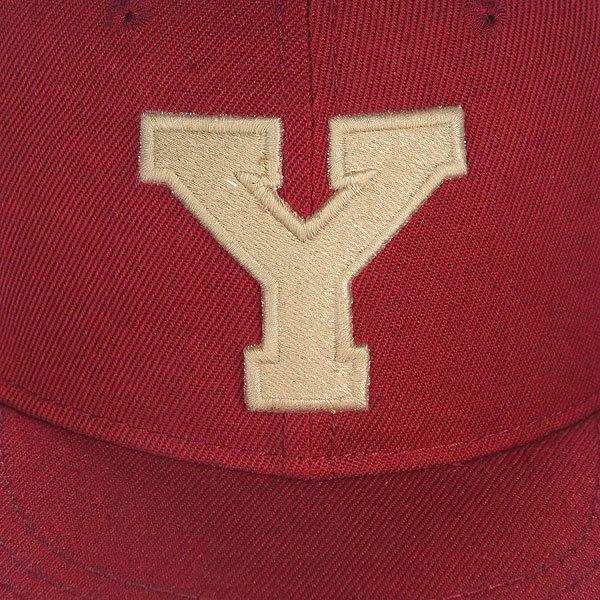 Бейсболка с прямым козырьком Truespin Abc Bordo Y