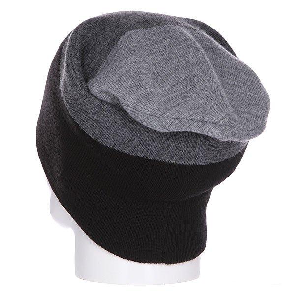 Шапка носок Shweyka Trio Beanie Grey/Black
