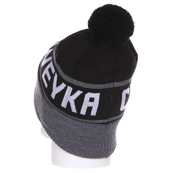 Шапка Shweyka Bubo Beanie Black/Dark
