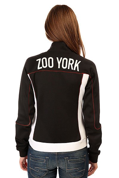 Толстовка классическая женская Zoo York I Chelsea Piers Warm Up Black