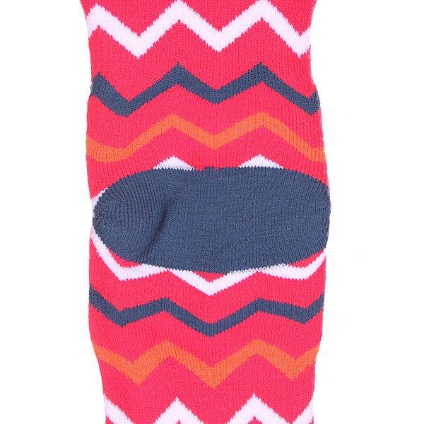 Носки сноубордические женские Roxy Ski Zigzag Stripe Bright White