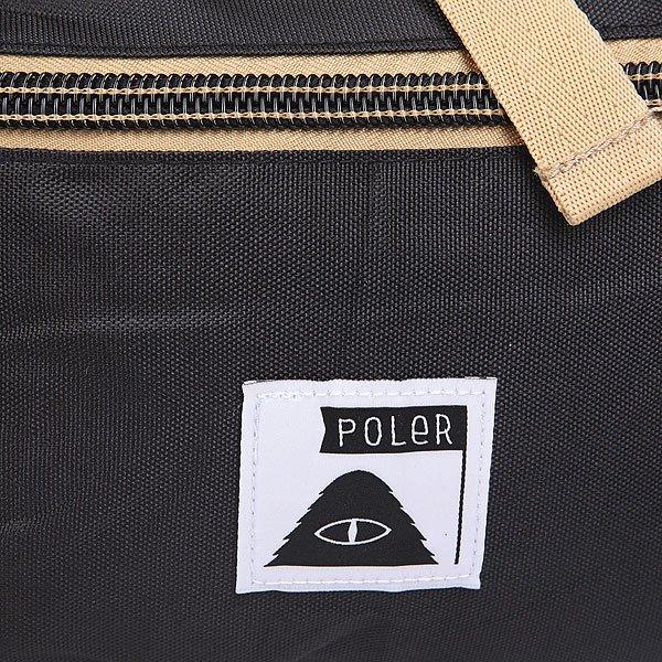 Рюкзак туристический Poler Field Pack True Black