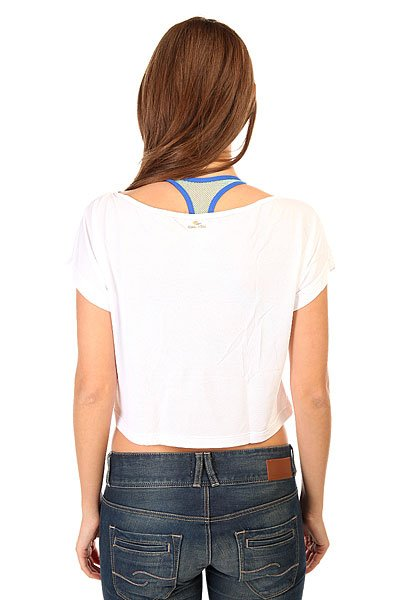 Топ женский CajuBrasil Croptop Supplex White