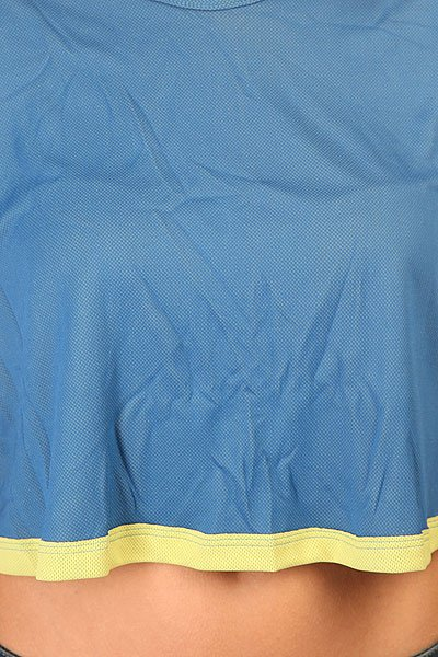 Топ женский CajuBrasil Croptop Field Dry Yellow/Blue