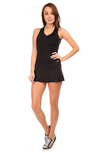 Комбинезон для фитнеса женский CajuBrasil Trend Overall Black