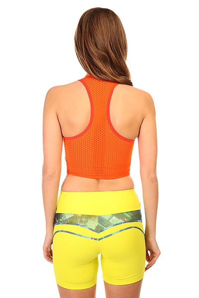 Топ женский CajuBrasil Supplex Top An Orange