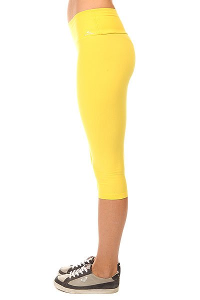 Леггинсы женские CajuBrasil Supplex Capri Yellow