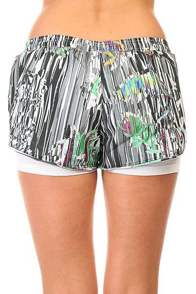Шорты пляжные женские CajuBrasil Tafetб Stripe Shorts Multi