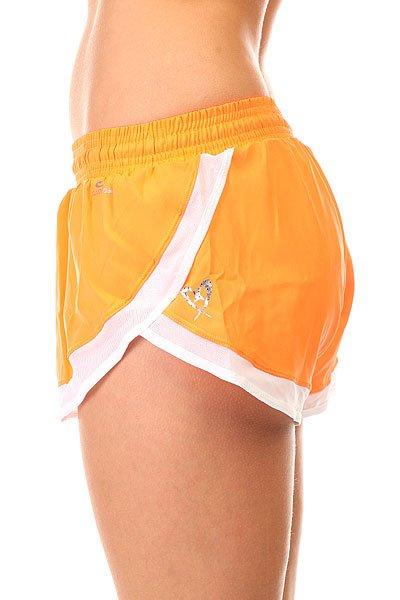 Шорты пляжные женские CajuBrasil Tafetб Shorts Orange