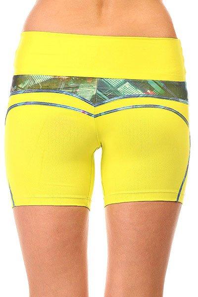 Шорты пляжные женские CajuBrasil New Zealand Shorts Yellow