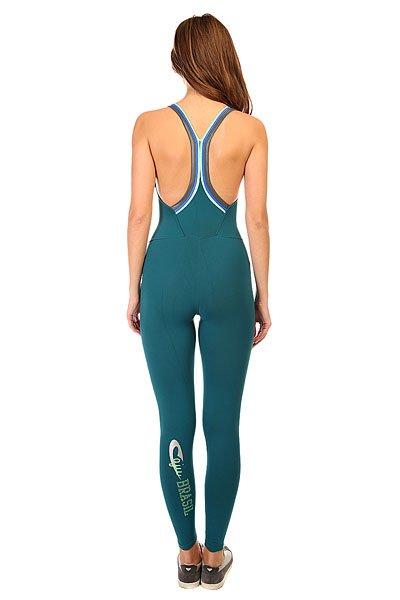 Комбинезон для фитнеса женский CajuBrasil New Zealand Anback Overall Green