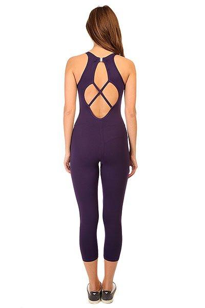 Комбинезон для фитнеса женский CajuBrasil New Zealand Anback Overall Purple