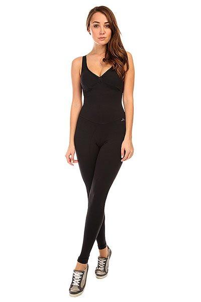 Комбинезон для фитнеса женский CajuBrasil New Zealand Overall Black