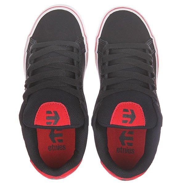 Кеды низкие детские Etnies Fader Vulc Black/Red/White
